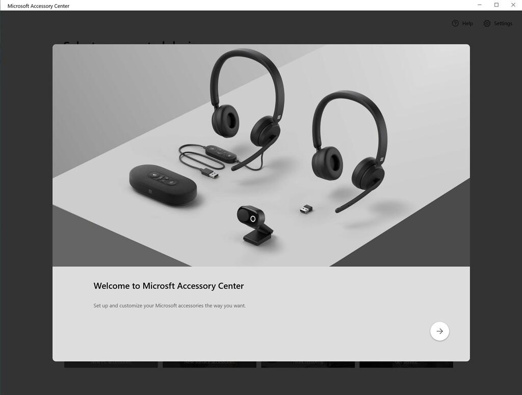 Microsoft Accessory Center: esta aplicación gratuita sirve para verificar y configurar los aparatos conectados de Microsoft