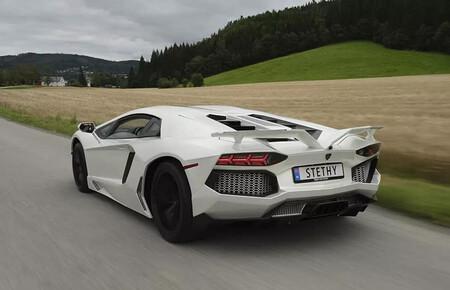 Un Lamborghini Aventador réplica nacido en un garaje de Noruega