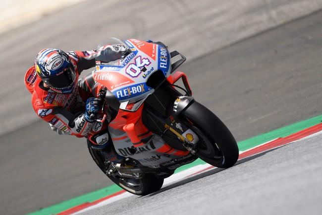 Andrea Dovizioso y Ducati marcan el paso a seguir en San Marino con Lorenzo segundo y Márquez quinto