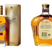 Dos ofertas del día de Amazon en whisky Johnnie Walker y Crown Royal para empezar bien la semana