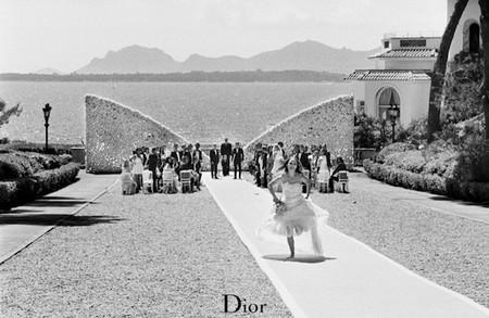 La novia (a la fuga) de Dior. Por Natalie (Miss) Portman