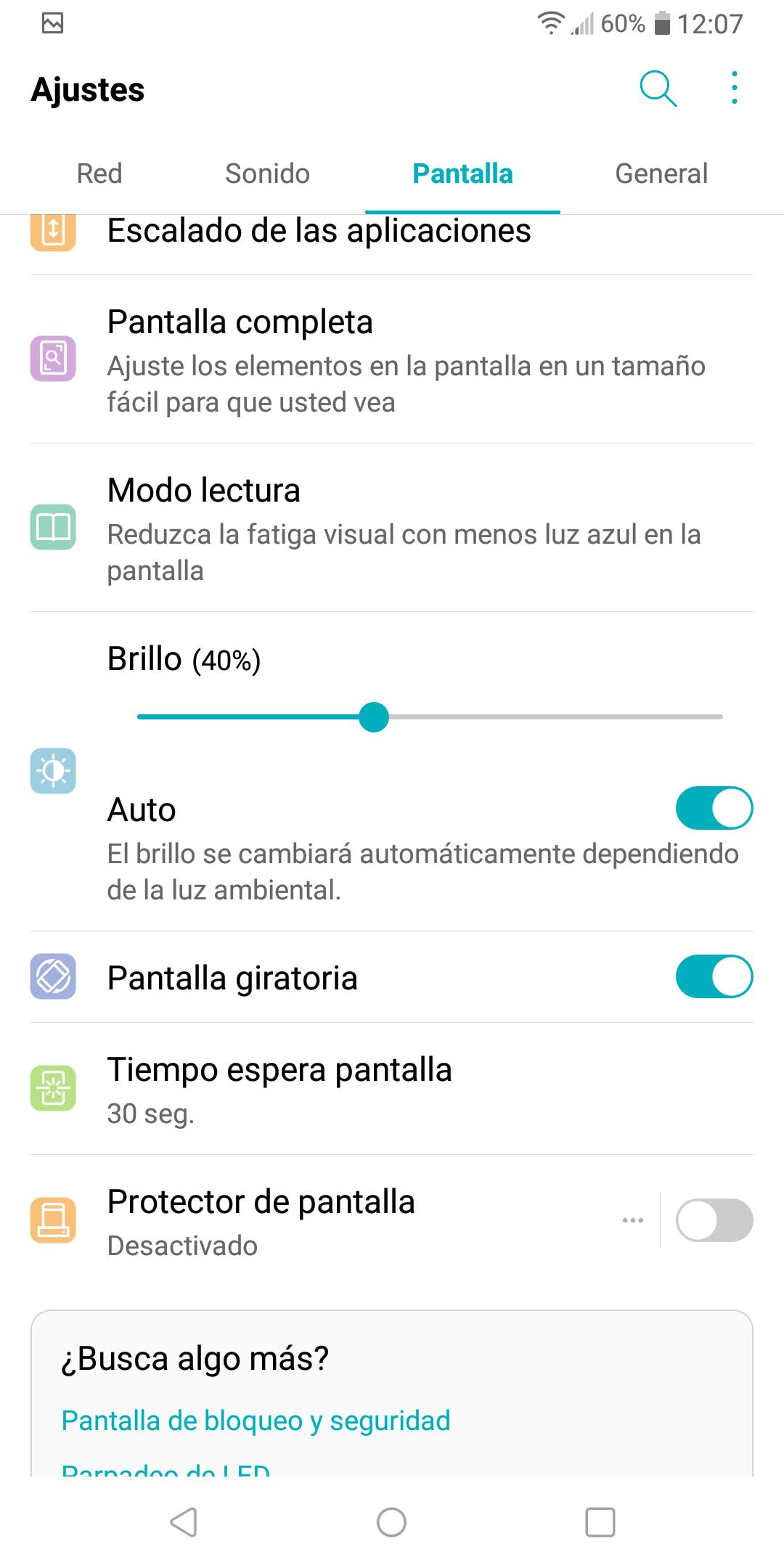 Software del LG Q7