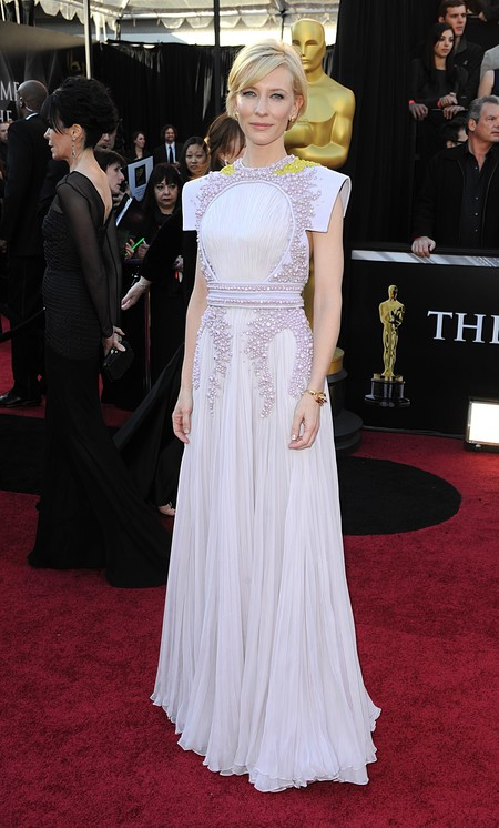 Cate Blanchett En Los Oscar 2011