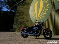 De altos vuelos con la Harley-Davidson XL 1200CA Custom Limited a las normativas europeas: la semana a rebufo