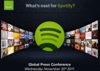 Spotify presentará su nuevo rumbo el miércoles 30 de noviembre