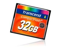Tarjeta CompactFlash de 32GB y 133X de Transcend