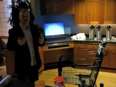 El carro de la compra inteligente gracias a Kinect