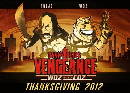 "Danny Trejo's Vengeance ""Woz with a Coz"", Wozniak estrenará su primer juego"