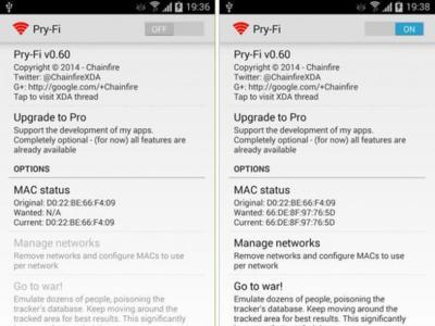 Pry-Fi quiere evitar que nuestra WiFi sirva para monitorizar nuestros smartphones