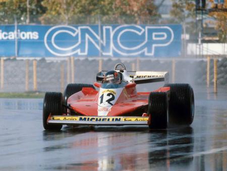 Villeneuve Canada Formula 1 1978