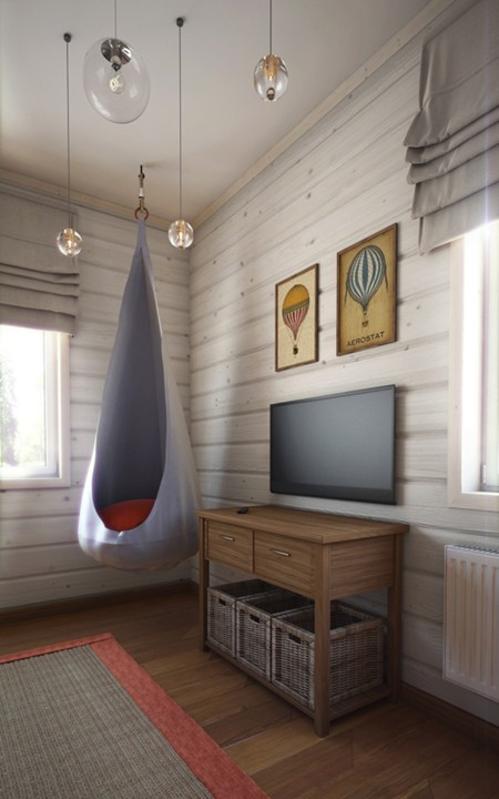 05 Air Is The Main Theme Of This Rooms Decor And Even The Artworks Are Dedicated To Hot Air Balloons