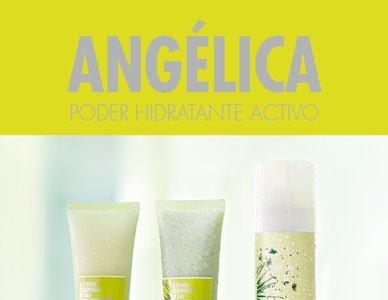 Mascarilla hidratante Angélica de L'Occitane, aplicar 3 minutos y listo. La probamos