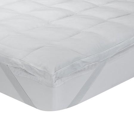 Cubrecolchón Classic Blanc aloe vera 135 x 190 por 44,56 euros en Amazon con envío gratis