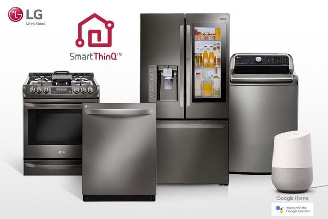 LG sigue apostando por el electrodoméstico conectado y anuncia más dispositivos compatibles con Google Assistant