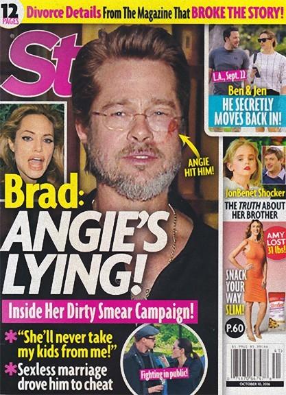 Las mentiras de Angelina... y su gancho