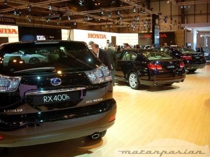 Lexus RX400h, GS450h y LS600h