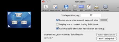TabExpose 2, más novedades al plugin de Exposé para Safari
