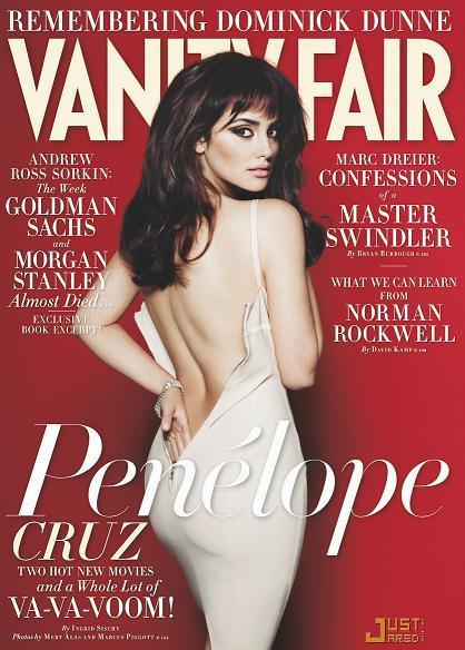 El lado sexy de Penélope Cruz en Vanity Fair