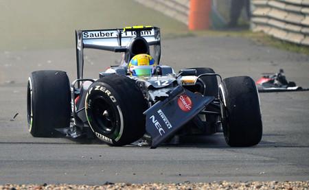 Sauber no está valorando echar a Esteban Gutiérrez