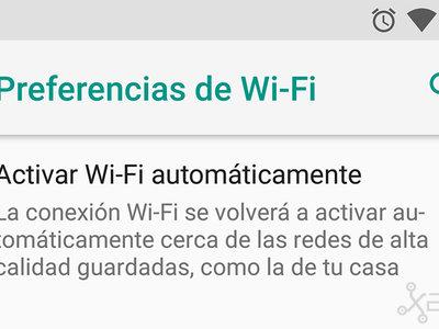 """Cómo habilitar la función oculta """"Activar Wi-Fi automáticamente"""" de Android 8.0 Oreo en los Nexus 5X y 6P"""
