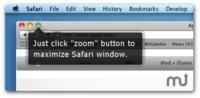 SafariZoom hace que Safari se maximice