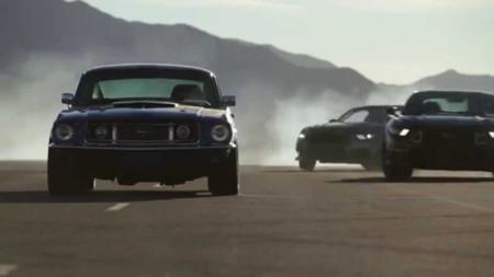 Las seis generaciones del Ford Mustang en un solo video