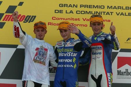 Dani Pedrosa Gp Valencia 125cc 2002