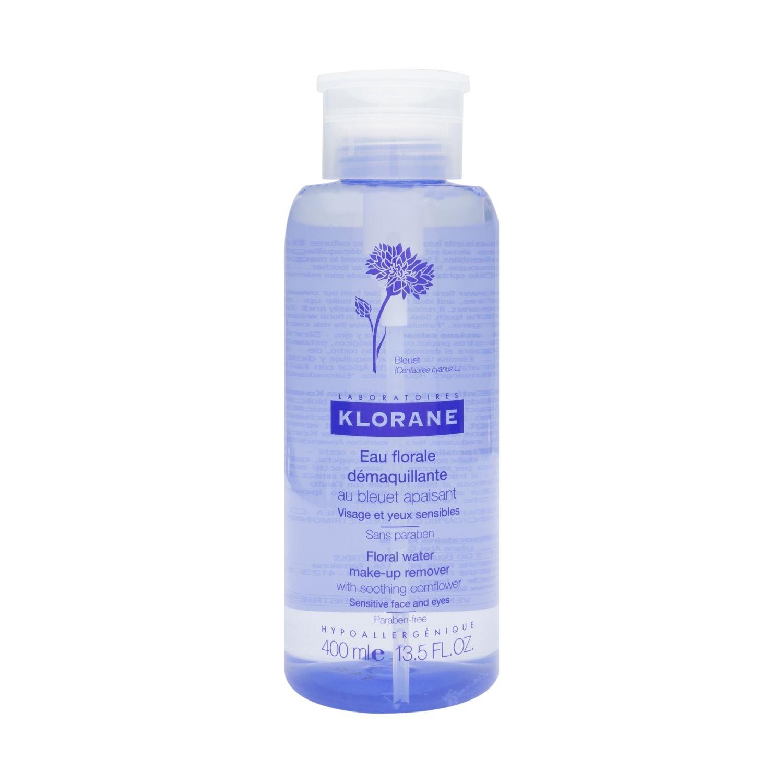 Agua micelar desmaquillante de flor de aciano de Klorane