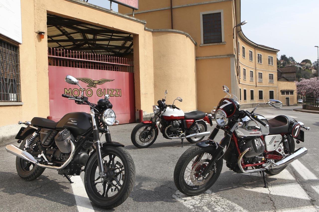 Foto de Moto Guzzi V7 gama 2012 (2/11)