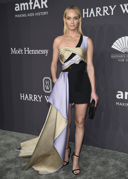 Amber Valletta gala amfar 2017 nueva york