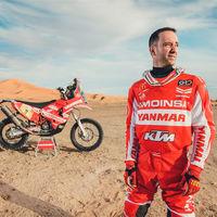 """El Dakar 2018 será el último de Gerrard Farrés en moto: """"voy a dar el 100% para despedirme por todo lo alto"""""""