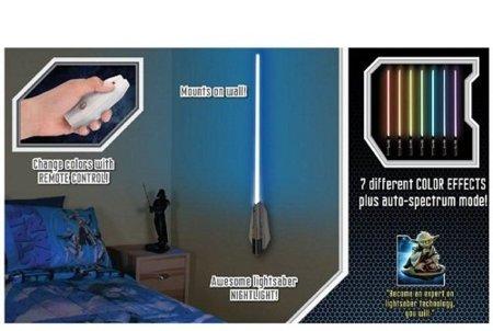 Sable de Star Wars que ilumina tu habitación