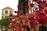 La primavera desborda Gerona durante el Temps de Flors