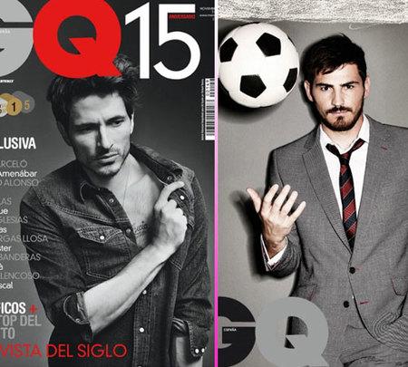 Andrés Velencoso e Iker Casillas, todo un lujo en GQ