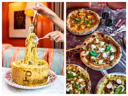 Los Spaghetti Carbonara Para Dos Personas Tienen Un Precio De 15 Euros Las Pizzas Oscilan Entre Los 11 Y Los 18 Euros