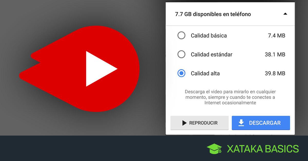 Cómo Descargar Vídeos Con Youtube Go Para Verlos Sin Conexión A Internet