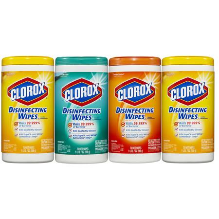Clorox Toallitas Desinfectantes