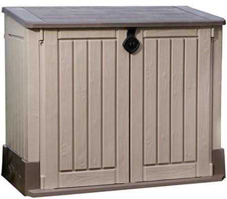 el armario para exteriores keter midi de 845 litros est