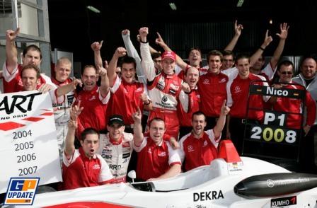 Nico Hulkenberg, campeón de la Formula 3 Euroseries