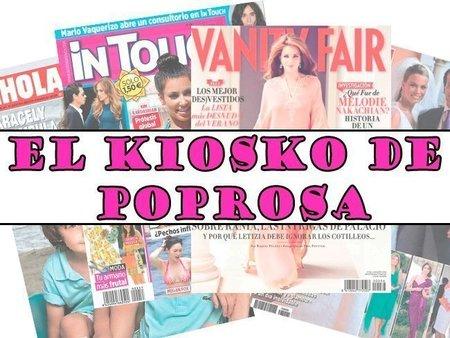 El Kiosko de Poprosa: portadas y más portadas de revistas (del 2 al 9 de enero)