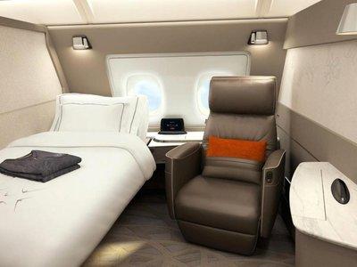 Dormir en un avión ya nunca será lo mismo después de conocer las nuevas suites de Singapore Airlines