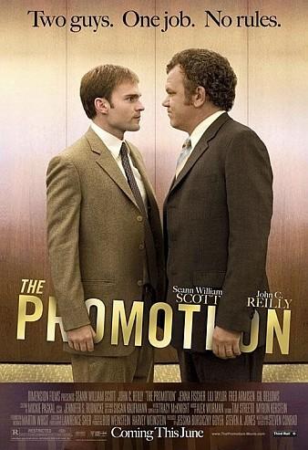 Póster y trailer de 'The Promotion', Seann William Scott contra John C. Reilly