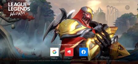 League Legends Wild Rift Android