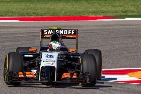 Sergio Pérez perderá siete posiciones en Brasil por su incidente con Sutil y Räikkönen