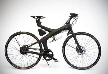 Gusto Orcinus: un prototipo de bicicleta eléctrica plegable de fibra de carbono procedente de China