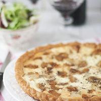 Tarta de ajos caramelizados: receta para nuestras cenas de verano