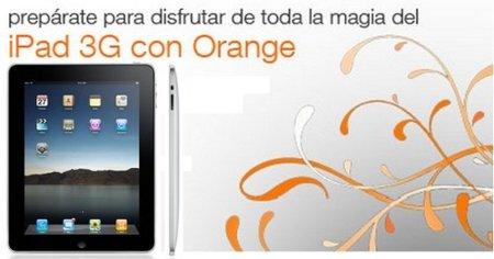 Orange dispondrá del iPad a finales de mayo