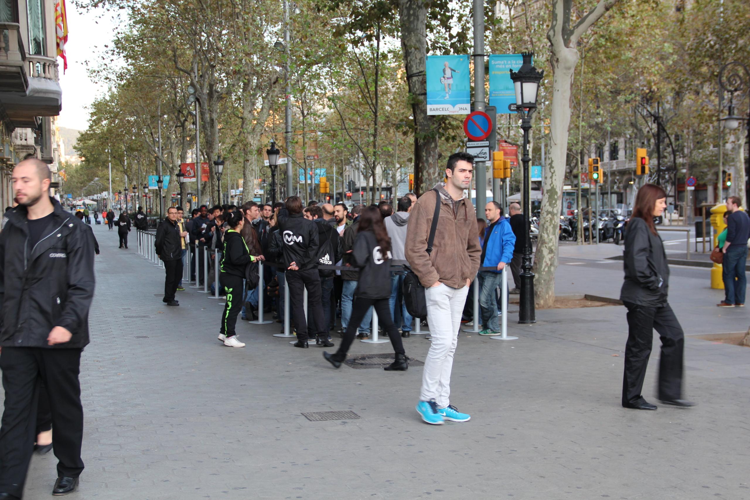 Foto de Lanzamiento del iPad Air en Barcelona (4/30)
