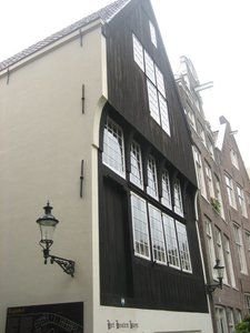 La casa más antigua de Ámsterdam