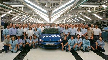 Ya se han producido 100.000 unidades del Volkswagen Scirocco